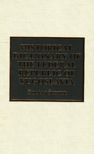 Historical Dictionary of the Federal Republic