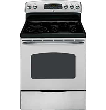 "GE JB655STSS 30"" Stainless Steel Electric Smoothtop Range"