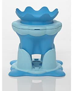 tummy tub stand step stool blue baby. Black Bedroom Furniture Sets. Home Design Ideas