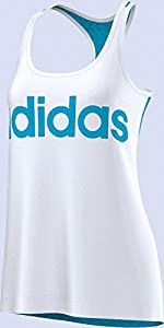 Adidas Tanktop Single-Jersey weiss Größe XL