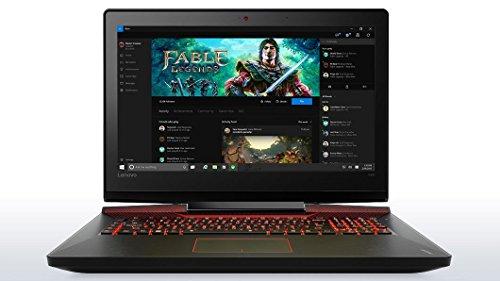 "Lenovo Y900 - 17.3"" FHD Gaming Laptop (Intel Core i7, 32 GB RAM, 1TB HDD + 512 GB SSD, NVIDIA GeForce GTX 980M, Windows 10) 80Q1004KUS"