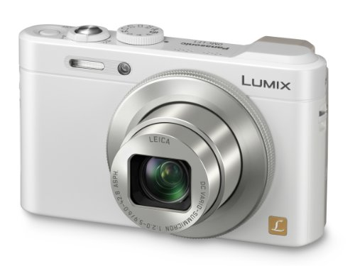 Panasonic Lumix DMC-LF1 12 MP Digital Camera (White)