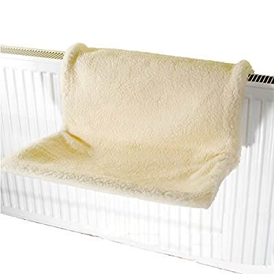 Bunty Cat Kitten Hanging Radiator Pet Animal Bed Warm Fleece Basket Cradle Hammock