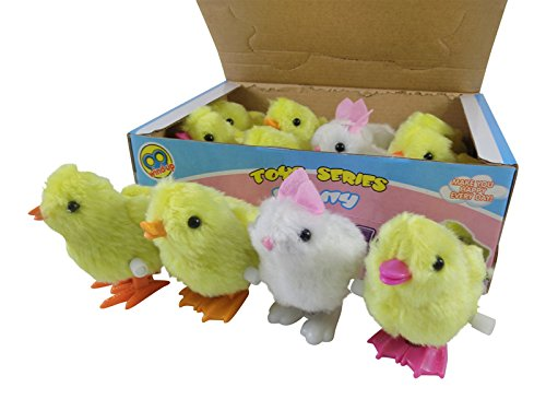 1-Dozen-Wind-Up-Jumping-Chicken-and-Bunnies-Party-Favors-Pack-of-12
