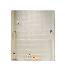 Swanstone TI-5-018 Veritek Five Panel Tub Wall Kit, Bisque Finish