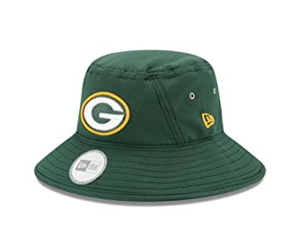 NFL Green Bay Packers Team Bucket Cap, One Size by New Era