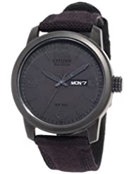 Citizen BM8475 00F Black Canvas Eco Drive