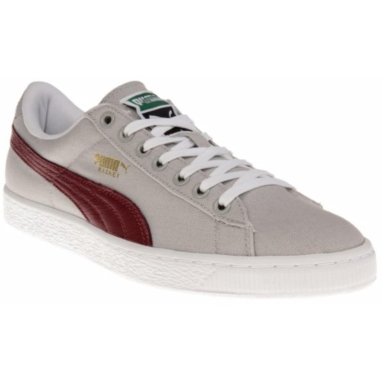 puma basket maroon sneakers