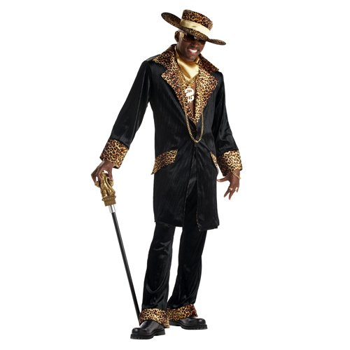 California Costumes Men's Supa Mac Daddy Costume