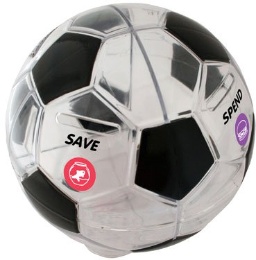 Money Savvy Soccer Ball - 1