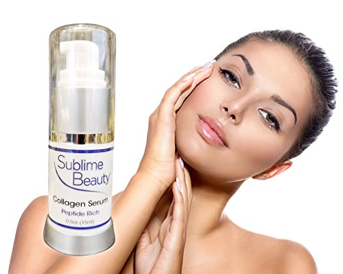 Collagen Serum | Peptide Rich By Sublime Beauty®. Matrixyl Is The Star Peptide, Which Can Double Collagen Production! **Free Collagen Report Sent After Purchase** Loss Of Collagen Equals Aging Skin. This Serum Is A Blend Of Beneficial Ingredients That Rej front-63660