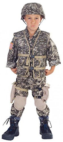 Army Ranger Deluxe Costume Child Large