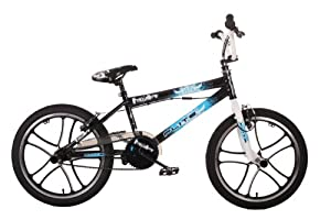 Flite Punisher Mag Boys BMX Bike - Gloss Black, 20 Inch