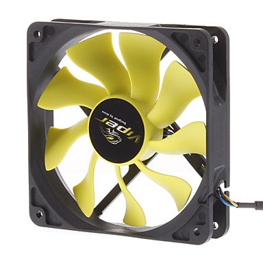 Zclak-Fn059 12Cm Pwm Auto Speed Control S-Flow Ip54 Super Silent Fan For Pc