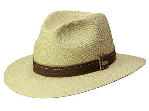 EDGAR natur Panamahut Strohhut mit UV-Schutz von Mayser 55