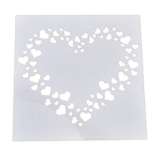 lychee diy schablone platte basteln modell plastik handarbeit dekor design neu. Black Bedroom Furniture Sets. Home Design Ideas