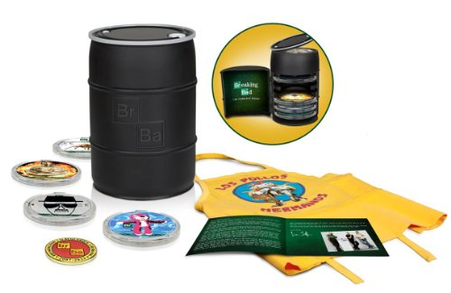 Breaking Bad: The Complete Series (2013 Barrel) [Blu-ray]
