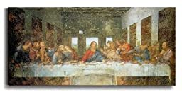 Last Supper by Da Vinci Premium Stretched Canvas (Ready-to-Hang)
