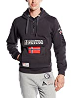 Geographical Norway Sudadera con Capucha Gymclass (Antracita)