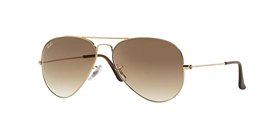 aviator arista  RAY-BAN RB 3025 AVIATOR SUNGLASSES (55 mm 001/51 ARISTA CRYSTAL ...