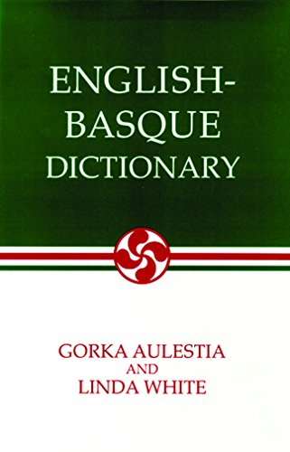 English-Basque Dictionary (Basque Series)