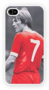 iPhone 4 and 4S, Kenny Dalglish Liverpool, Printed Hard Phone Case - Protective Shell - Snap on - High Quaility from Quaility Cases