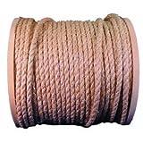 """Twisted Sisal Rope, 3/8""""X365'TWST SISAL ROPE"""