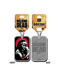 The Walking Dead Micheonne Samurai Official Chrome Metal Dog Tag from The Walking Dead