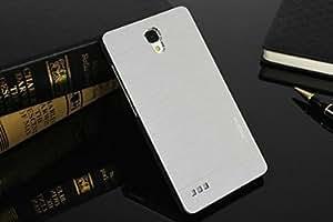 Motomo Premium Brushed Full Metal Protective Hard Back Case Cover For Xiaomi Redmi Note Prime, Xiaomi Redmi Note - Silver