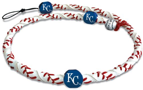 MLB Kansas City Royals Classic Frozen Rope Baseball Necklace at Amazon.com