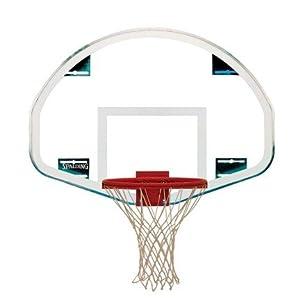 Fan Glass Spalding Basketball Backboard by Spalding