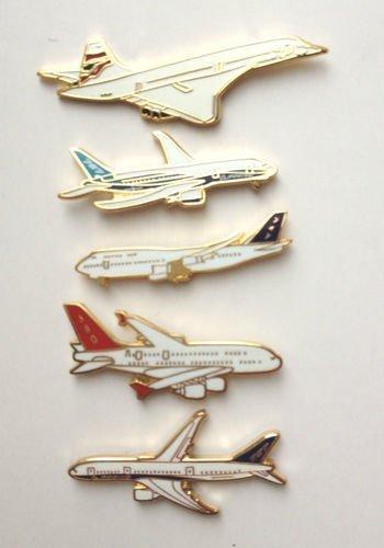 lot-de-5-marque-airliners-concorde-a-larticle787-boeing-et-airbus-747epingles-de-cravate-email