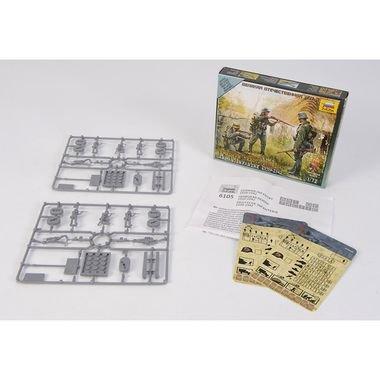 Zvezda 1/72 German Infantry Eastern Front 1941 (10 Figures) (New Tool)