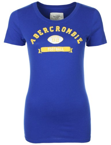 Abercrombie & Fitch - Donna - T-Shirt - Royal blue - M