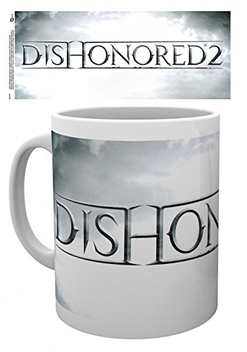 Set: Dishonored, 2, Logo Tazza Da Caffè Mug (9x8 cm) E 1 Sticker Sorpresa 1art1®