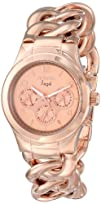 Invicta Womens 15141 Angel Rose Gold Tone Dial 18k Rose