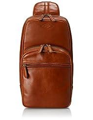Fossil End Of Season Sale Leather Saddle Messenger Bag (MBG9035216)