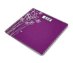 Venus Electronic Bathroom Scale (36 cm x 34 cm x 6 cm, Purple)