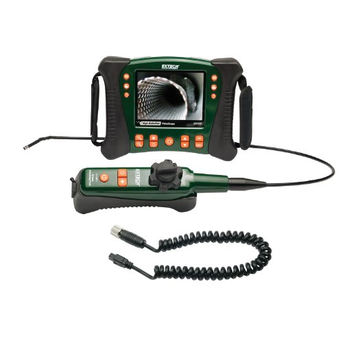 Extech Instruments HDV640W High Definition Wireless Articulating VideoScope, 6mm Diameter/1-Meter Semi-Rigid Cable