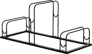 FIELDOOR 自転車駐輪スタンド 3台用 (タイヤ幅5.5cm以下対応)