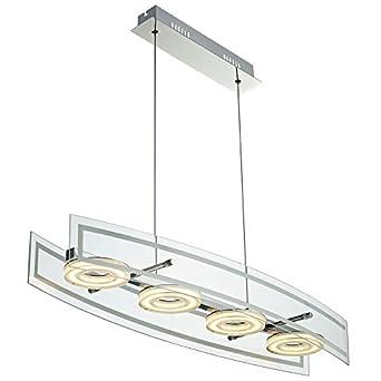 20w led pendelleuchte h ngelampe lampe leuchte k che esszimmer esto cora 780081 us45. Black Bedroom Furniture Sets. Home Design Ideas