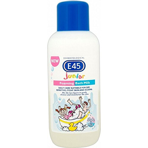 E45 Junior Foaming Bath Milk (500ml) - Pack of 6 500 Ml Bath