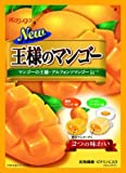 Image of Japanese Real Mango Dessert Candy w/ Vitamin C (Fresh Ripe Juicy Mango & Mango Yogurt Pudding) Flavored