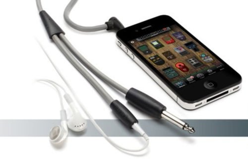 Griffin Technology Guitarconnect Cable For Iphone, Ipod Touch, Ipad