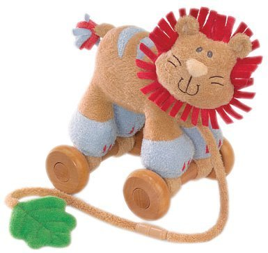 "Gund - Rumba the Lion Pull Toy 6"" - 1"