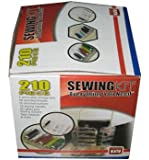 210 Pcs Deluxe Sewing Kit Set with Storage Caddy Box+AS SEEN ON TV