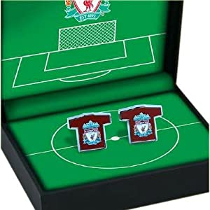 Liverpool FC. Shirt Design Cufflinks by Coombe Shopping