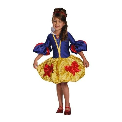 Girl's Disney Princess Snow White Couture Costume Size Medium 7-8x