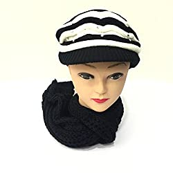 Sir Michele Ladies Cap with Stole Combo