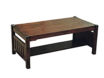 Arts and Crafts Mission Oak Coffee Table